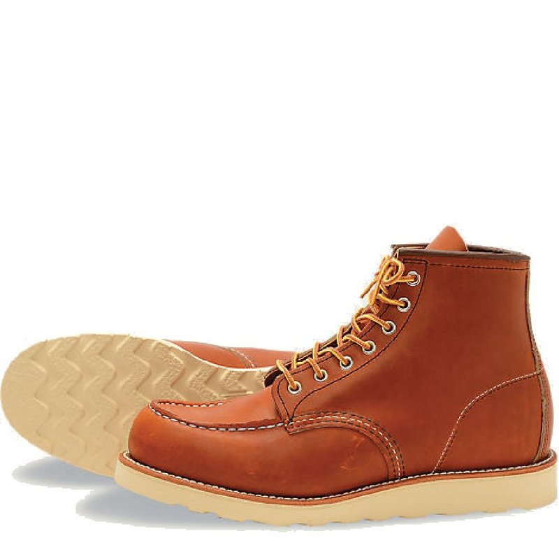 Red Wing Brand Of America Men's 6-Inch Classic Moc Boot O...