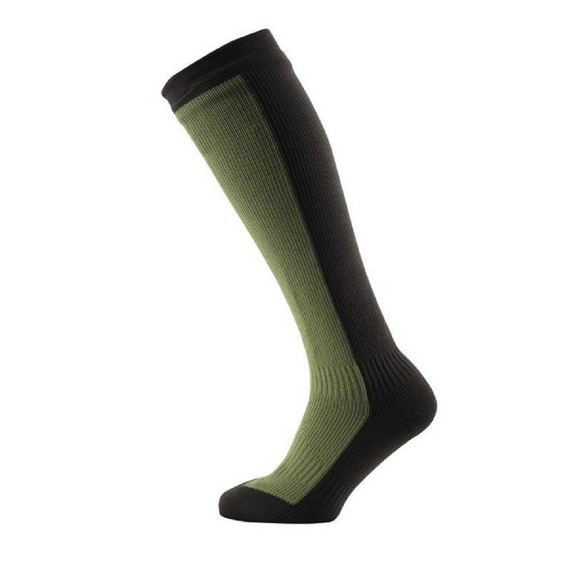 Seal Skinz Men's Hiking Mid Knee Waterproof Socks BLACK/A...