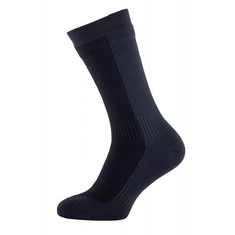 Seal Skinz Men's Hiking Mid Waterproof Socks BLACK/ANTHRA...