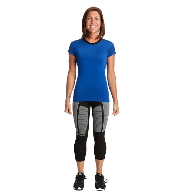 Xo Skin Women's 1.0 Short Sleeve Loose Fit Shirt TURQUOIS...