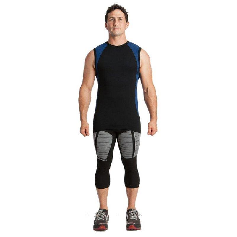 Xo Skin Men's 2.0 Sleeveless Form Fit V-Neck Shirt ORANGE...