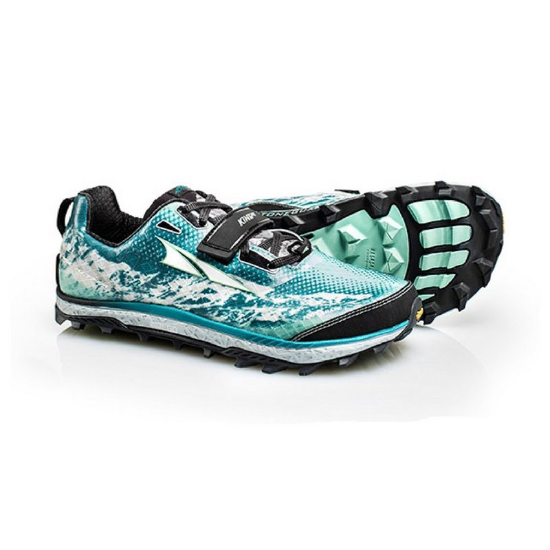Altra Women s King MT Trail Running Shoes TEAL 8.5 REG