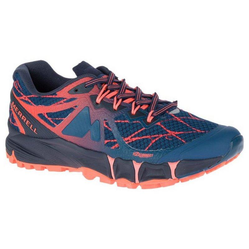 Merrell Women's Agility Peak Flex Shoes NAVY 10 REG