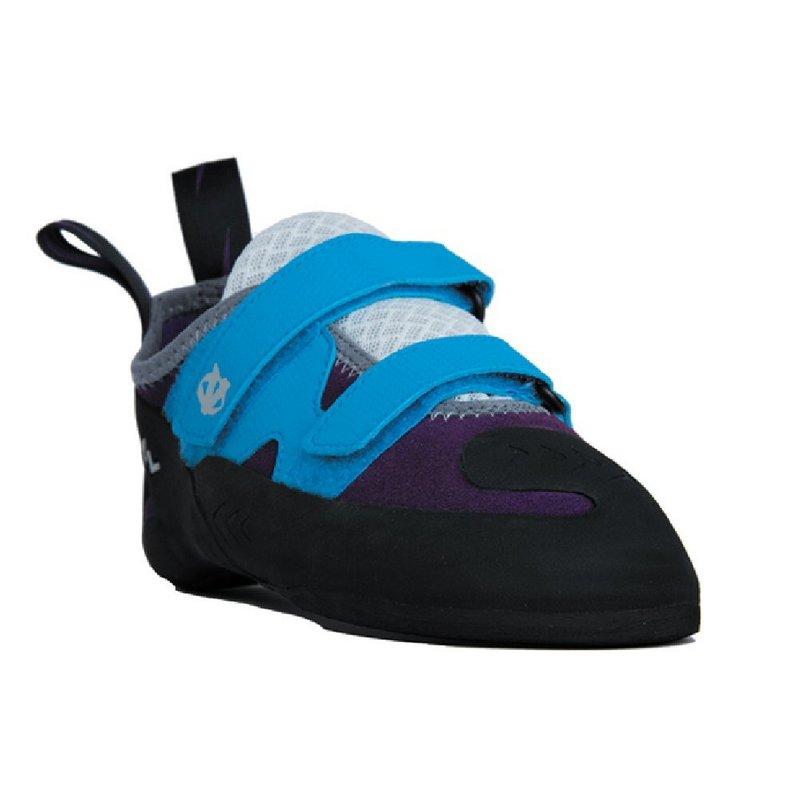 Evolve Women's Raven Climbing Shoe PURPLE/LIGHT BLUE 7.5 REG
