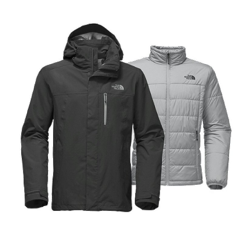 North Face Men s Carto Triclimate Jacket TNF Black / Monu...