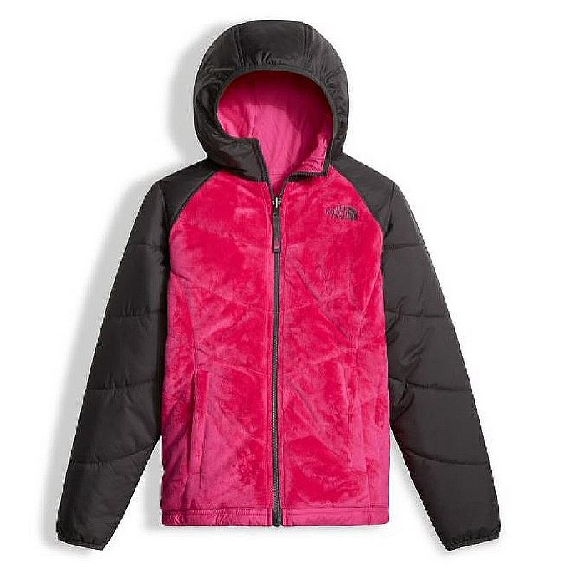 North Face Girls Reversible Perseus Jacket PETTICOAT PINK...