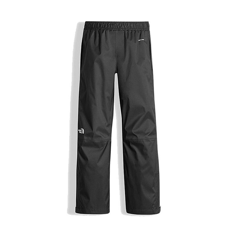 North Face Youth Resolve Pant BLACK WITH REFLECTIVE M REG