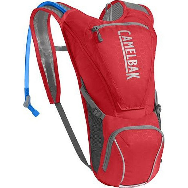 Camelbak Rogue Cycling Hydration Pack RACING RED/SILVER O/S