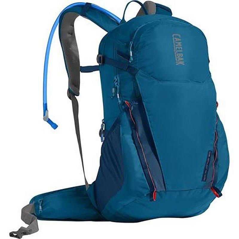 Camelbak Rim Runner 22 Hydration Pack GRECIAN BLUE/PUMPKI...