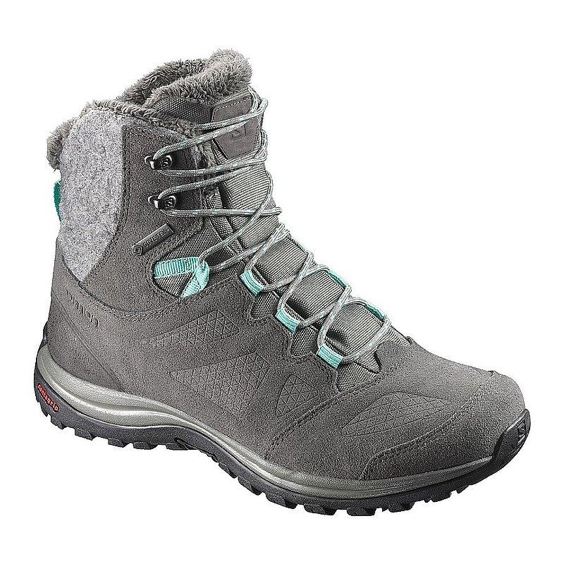 Salomon Women's Ellipse Winter GTX Boots CASTOR GRAY/BELU...