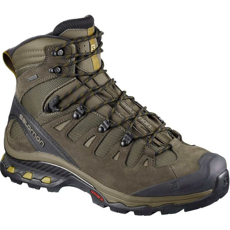 Salomon Men's Quest 4D 3 GTX Boot WREN/BUNGEE CORD/GRN SU...