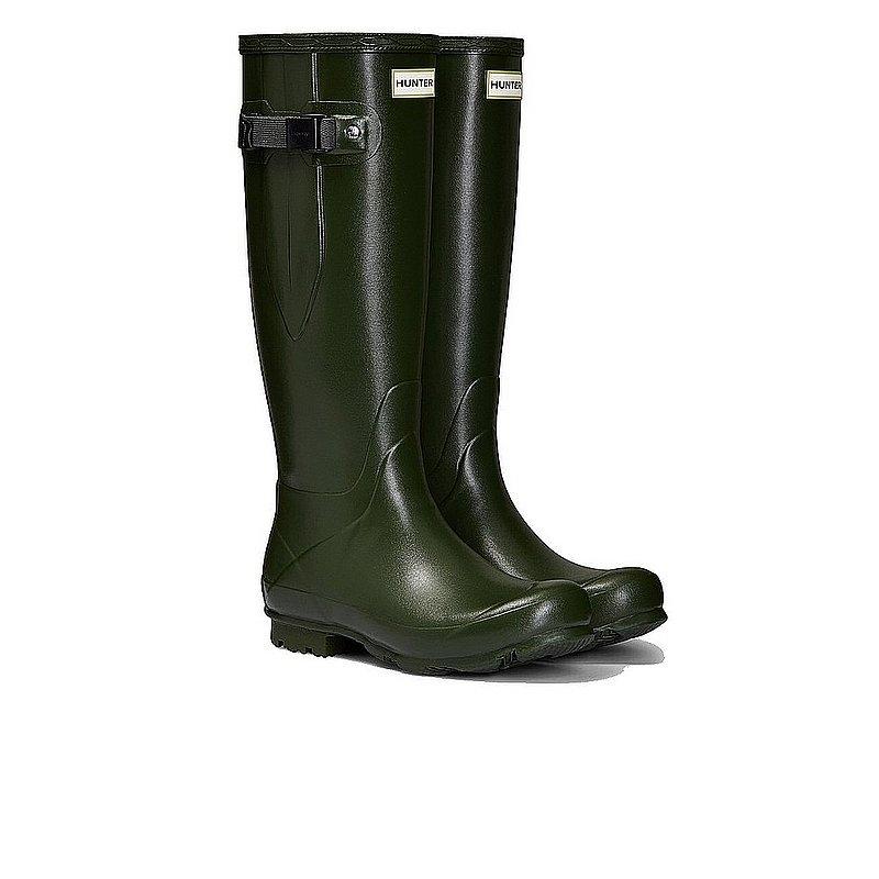 Hunter Boots Women's Green Field Side Adjustable Boots VI...
