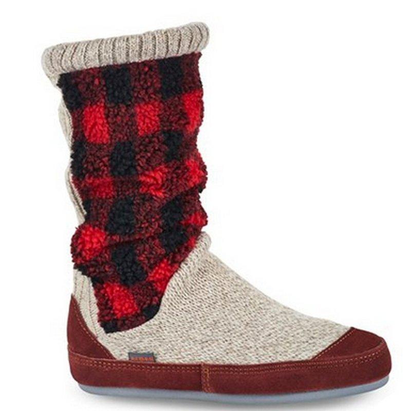 Acorn Products Women's Slouch Boot Slipper Socks BUFFALO ...