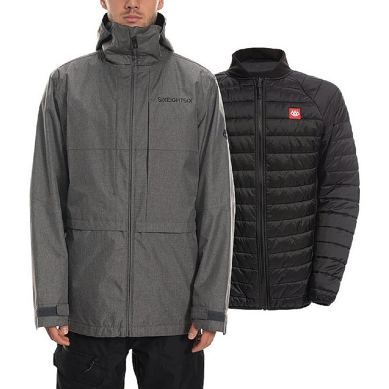 686 Men's SMARTY 3-in-1 Form Jacket L9W119 (686)