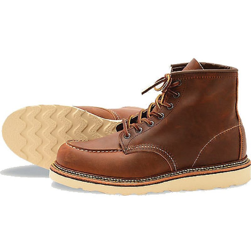 Red Wing Brand Of America 1907 6-Inch Moc Toed Work Boot ...