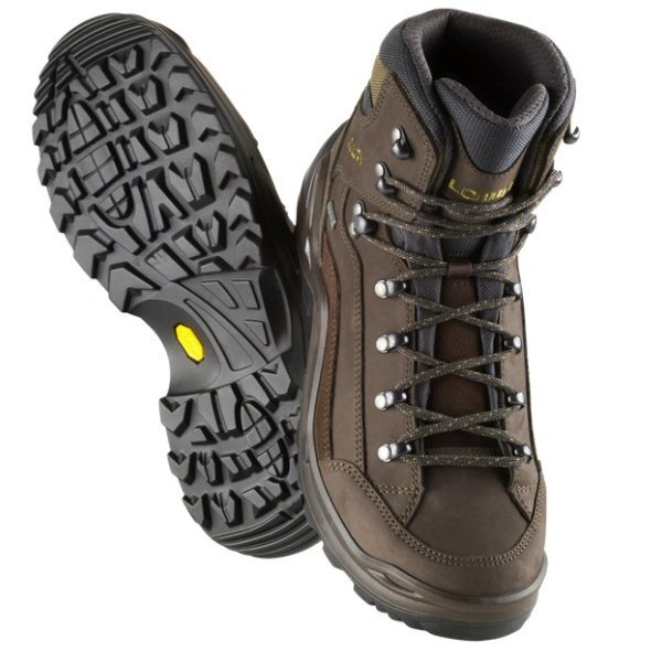 Lowa Boots Men's Renegade GTX Mid Hiking Boots ESPRESSO /...