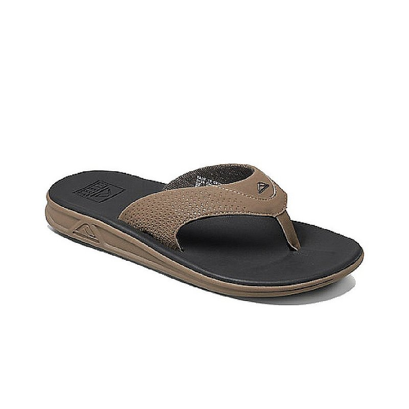 Reef Men's Rover Sandals BLACK 13 REG