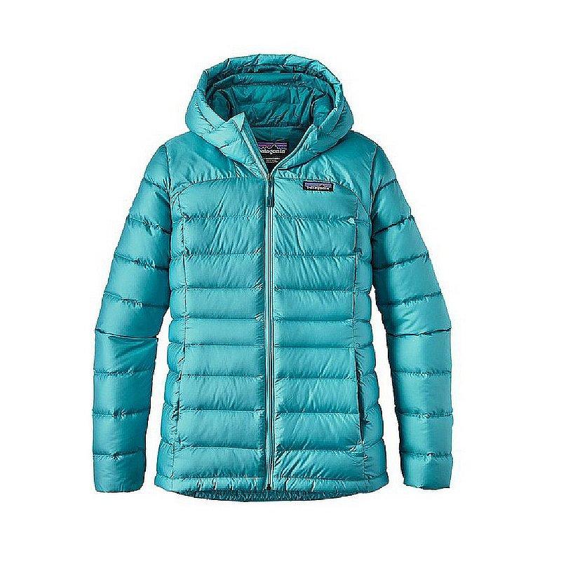 Patagonia Women's Hi-Loft Down Sweater Hoody CREVASSE BLU...