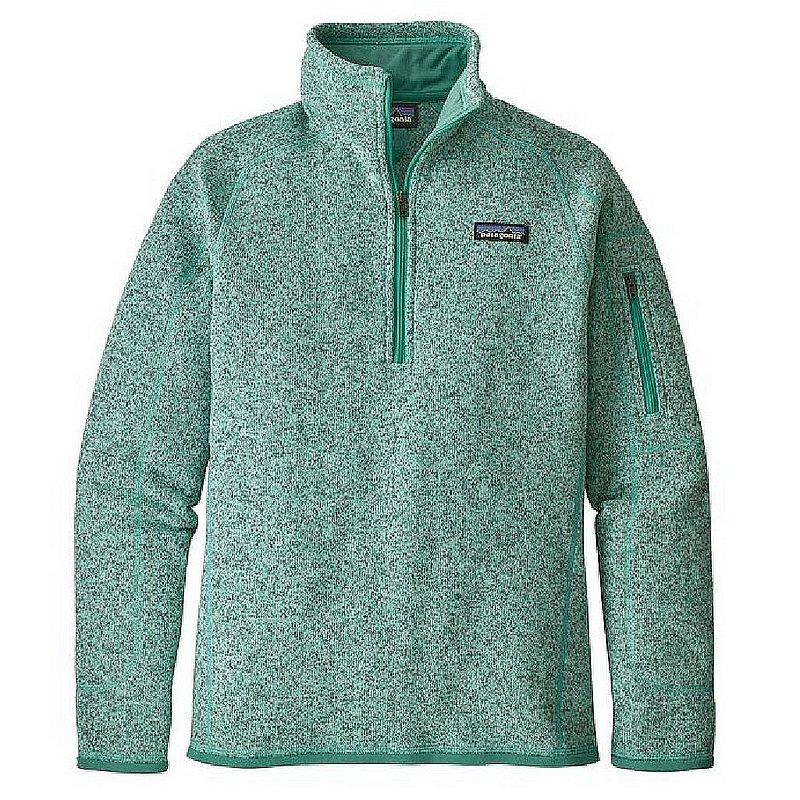 Patagonia Women's Better Sweater 1/4 Zip Pullover HEMLOCK...
