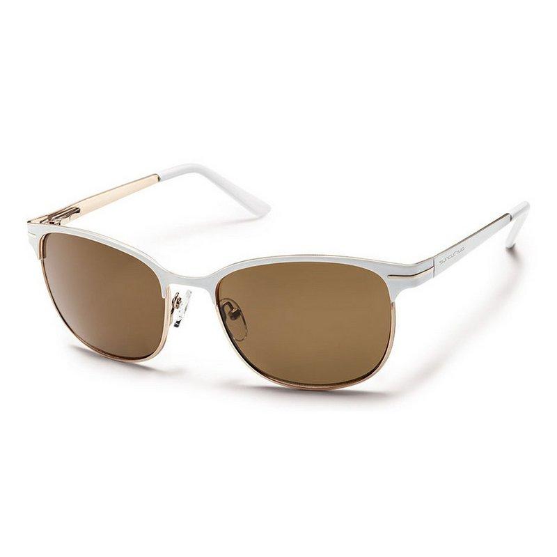 Sun Cloud Causeway (Medium Fit) Sunglasses BROWN POLARIZE...