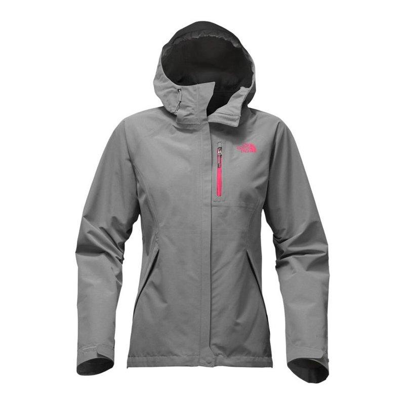 North Face Women's Dryzzle Jacket TNF MEDIUM GREY HEATHER...