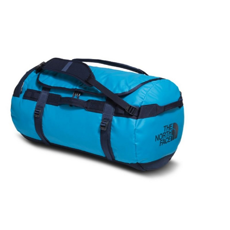 North Face Base Camp Duffel--Large SUMMIT GOLD / TNF BLAC...
