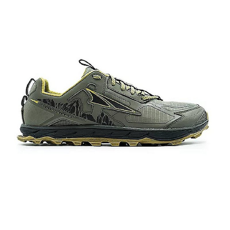Altra Men's Lone Peak 4.5 Trail Running Shoes AL0A4PE5 (Altra)