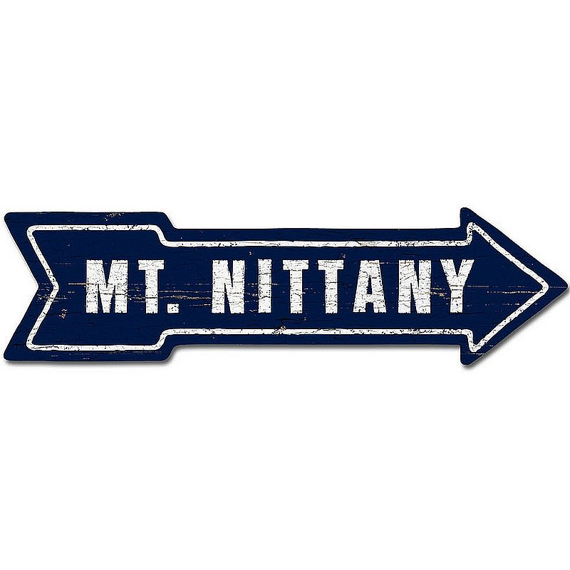 Mtn. Nittany This Way Arrow