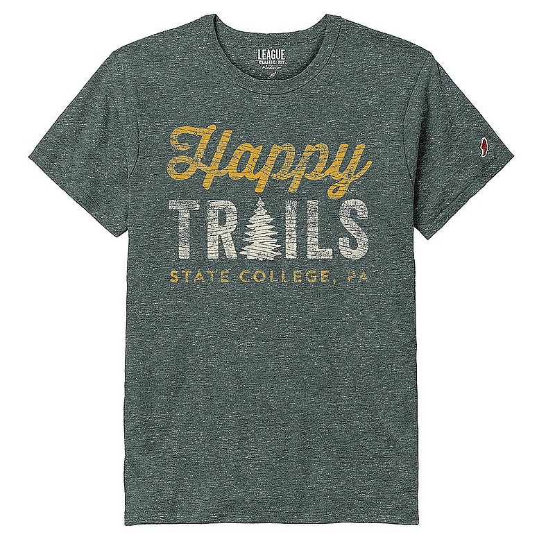 Appalachian Outdoors Unisex Happy Trails T-Shirt 1084175 (Appalachian Outdoors)