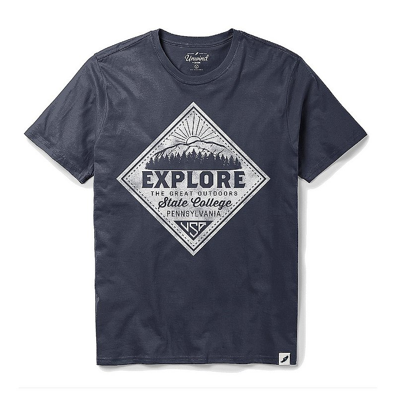 Appalachian Outdoors Unisex State College Explore T-Shirt 1049166 (Appalachian Outdoors)