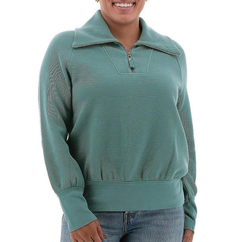 Aventura Clothing Women's Hazelton Zip Neck Top M988143 (Aventura Clothing)