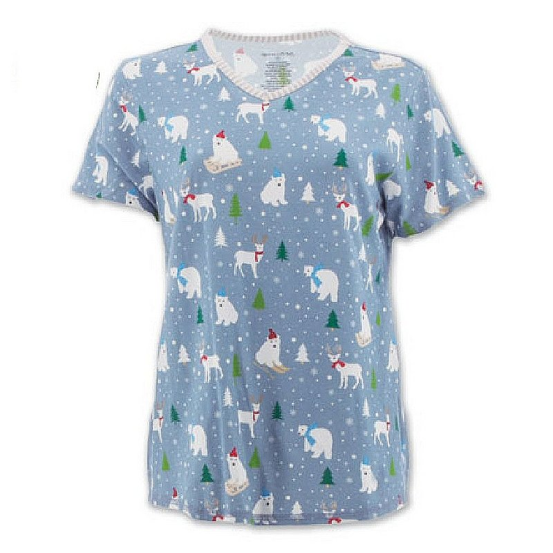 Aventura Clothing Women's Polar Bear PJ Top H04286JX (Aventura Clothing)