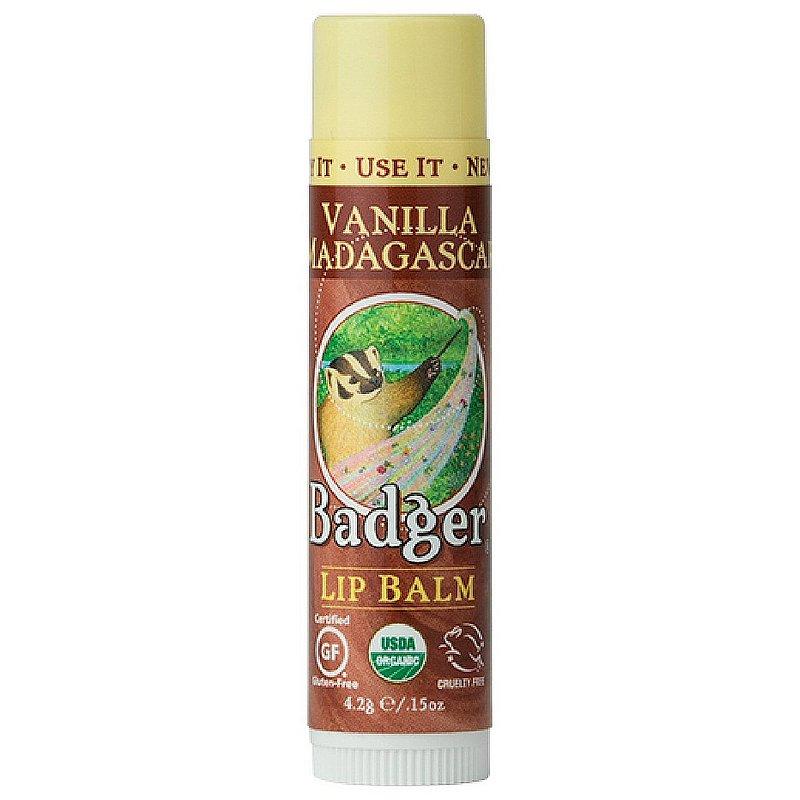 Badger Classic Organic Lip Balm--Vanilla Madagascar 22559 (Badger)