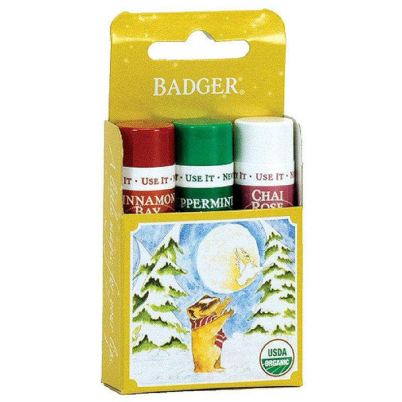 Badger Lip Balm 3-Pack--Gold Box 22572 (Badger)