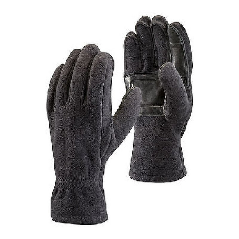 Black Diamond Equipment Men's MidWeight Fleece Gloves BD801029 (Black Diamond Equipment)