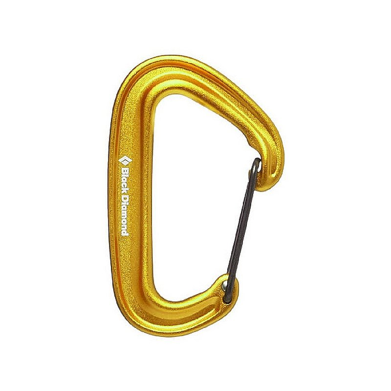Black Diamond Equipment MiniWire Carabiner BD210235 (Black Diamond Equipment)