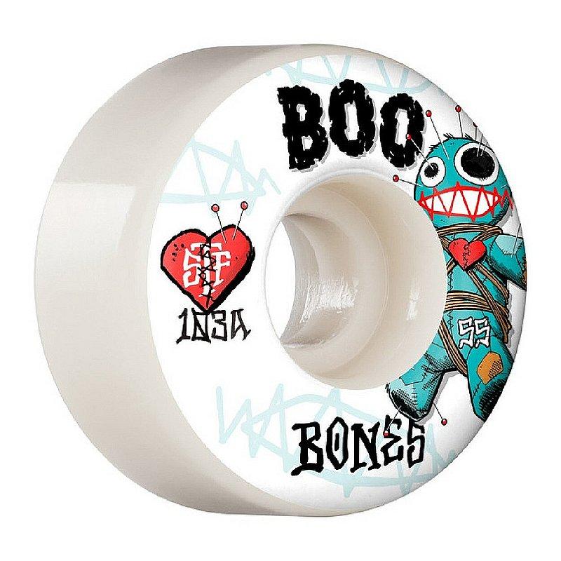 Bones Boo Johnson STF V4 Voodoo Wheels 1WBONJOHVDO55WG (Bones)