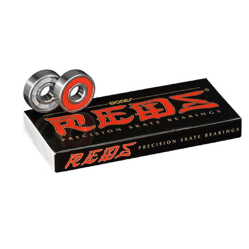 Bones Reds Skateboard Bearings 1BBOB0RE1000000 (Bones)