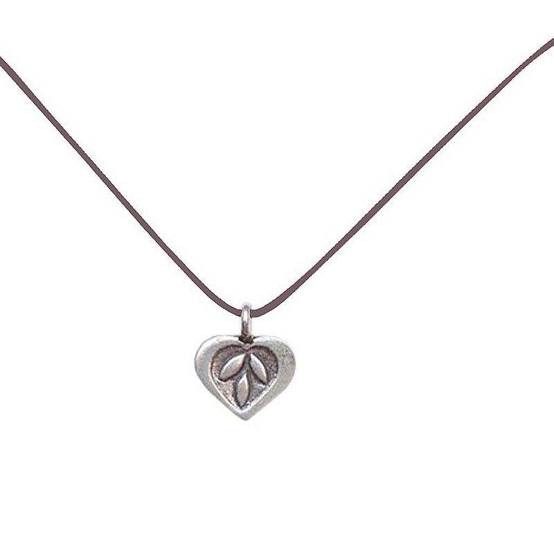 Bronwen Jewelry Tiny Charm Feather Necklace TCFEA