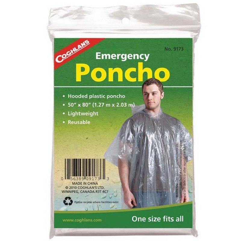 Coghlans Emergency Poncho 381301 (Coghlans)