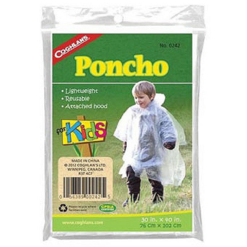 Coghlans Kids' Poncho 159192 (Coghlans)
