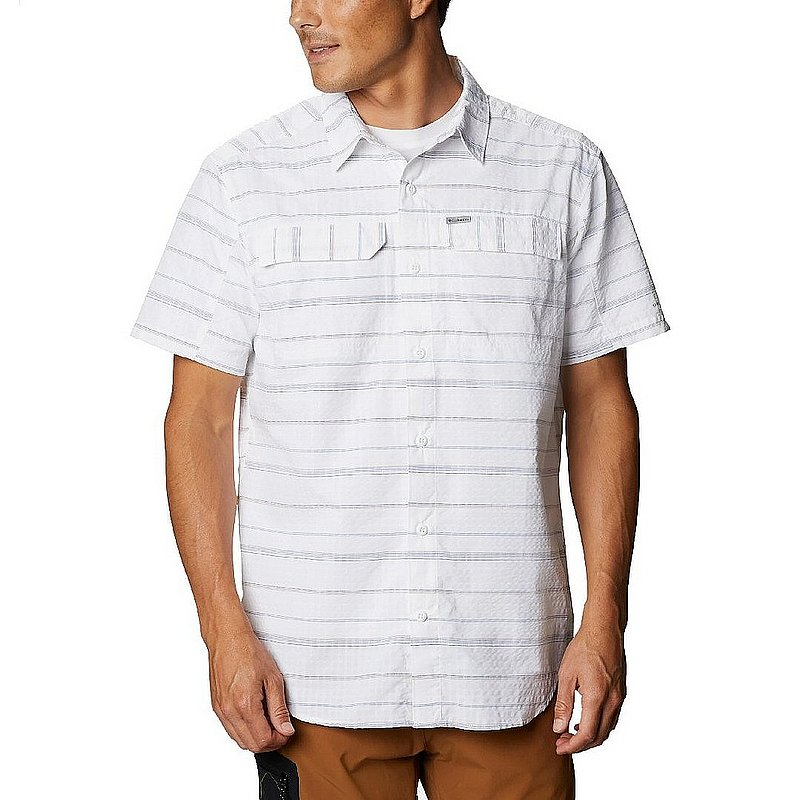 Columbia Sportswear Men's Silver Ridge Short Sleeve Seersucker Shirt 1884871 (Columbia Sportswear)