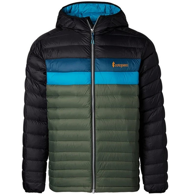Cotopaxi Men's Fuego Down Hooded Jacket FDJ-F21-BLKSPR-M (Cotopaxi)