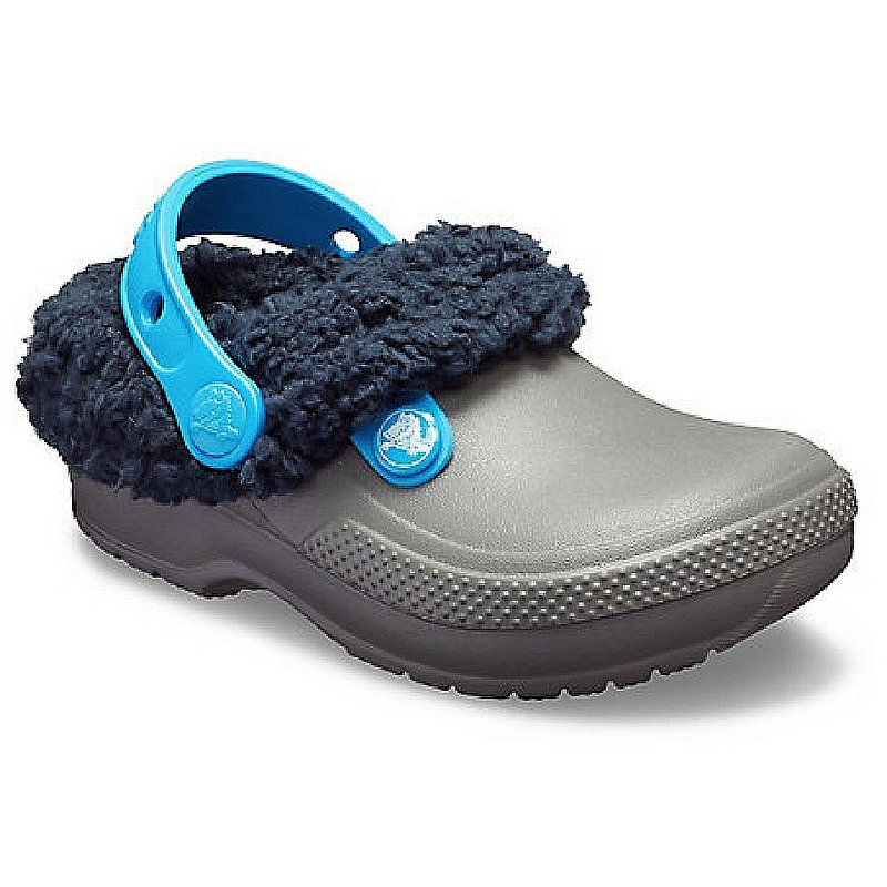 Crocs Footwear Kids' Classic Blitzen III Lined Clogs 204655 (Crocs Footwear)