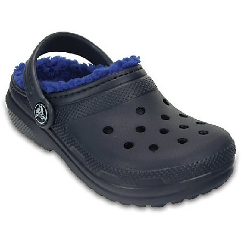Crocs Footwear Kids' Classic Fuzz Lined Clog 203506 (Crocs Footwear)