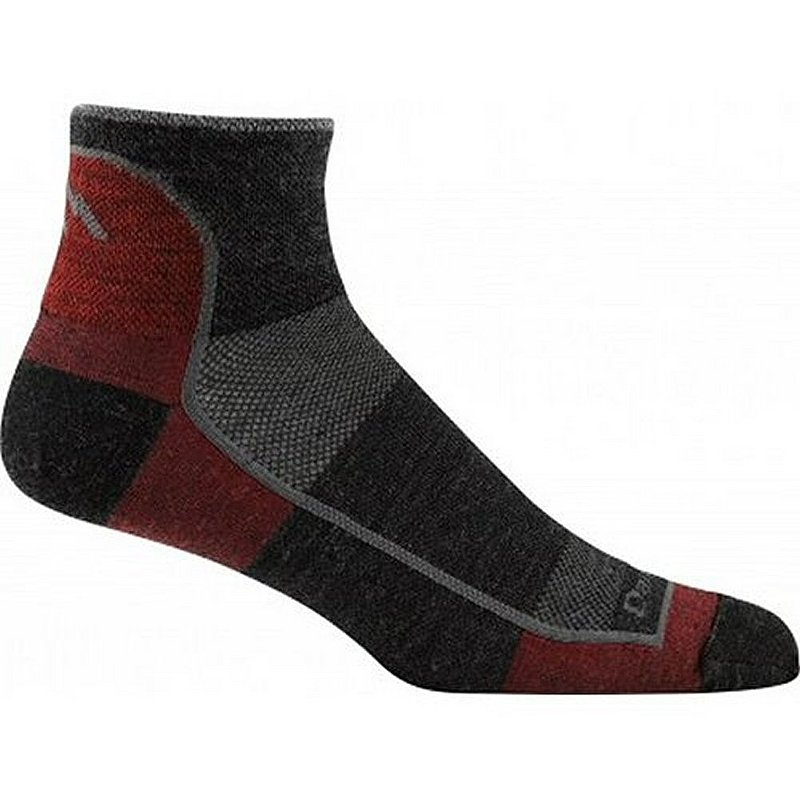 Darn Tough Men's 1/4 Sock Ultra Light Socks 1715 (Darn Tough)