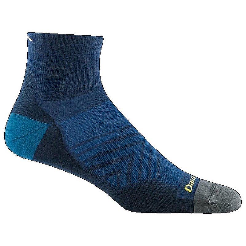 Darn Tough Men's Run Quarter Ultra-Lightweight Running Socks 1034 (Darn Tough)