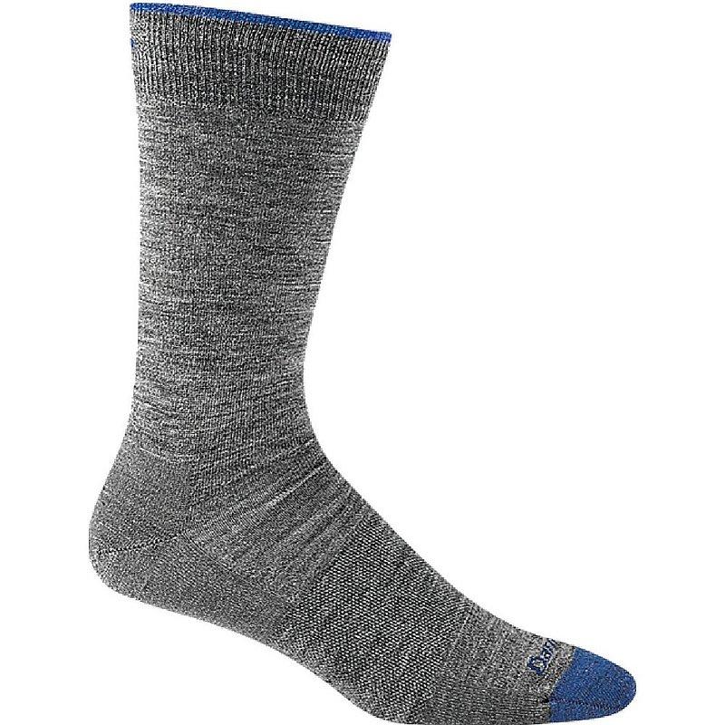 Darn Tough Men's Solid Crew Lightweight Lifestyle Socks 6032 (Darn Tough)