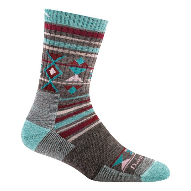 Darn Tough Women's Nobo Micro Crew Cushion Socks 1962 (Darn Tough)