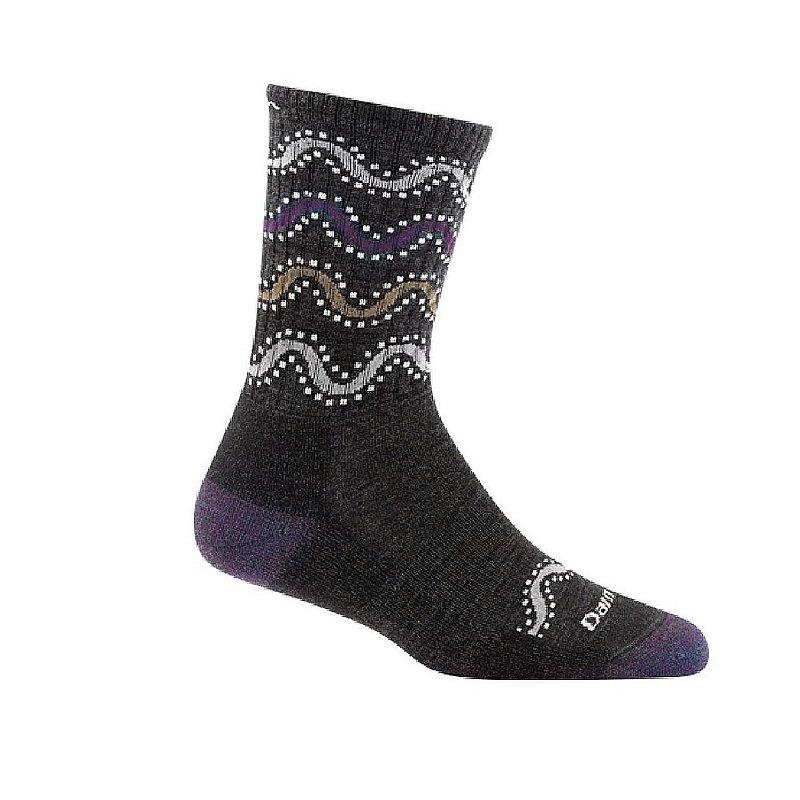 Women's Wandering Stripe Micro-Crew Light Cushion Socks